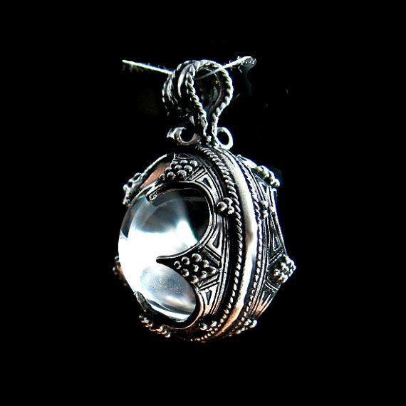 Pendant gotland with a rock crystal ball viking age viking pendant gotland with a rock crystal ball viking age viking jewelery viking talisman aloadofball Images