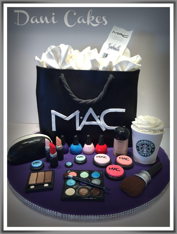 Sensational Mac Cosmetic Bag Cake Make Up Cake Happy Birthday Cake Pictures Personalised Birthday Cards Sponlily Jamesorg