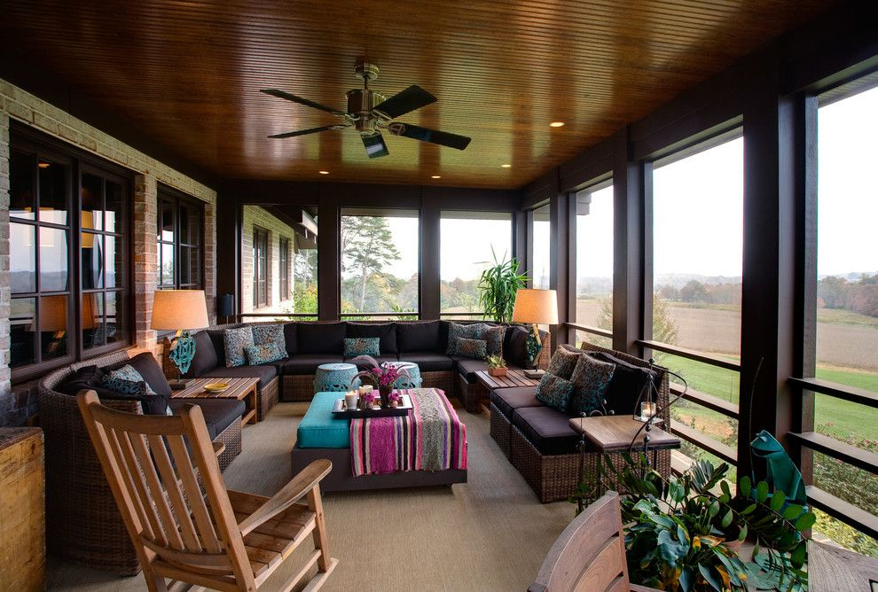 Cozy Enclosed Back Porch Ideas | Karenefoley Porch Ever in ... on Enclosed Back Deck Ideas id=94057