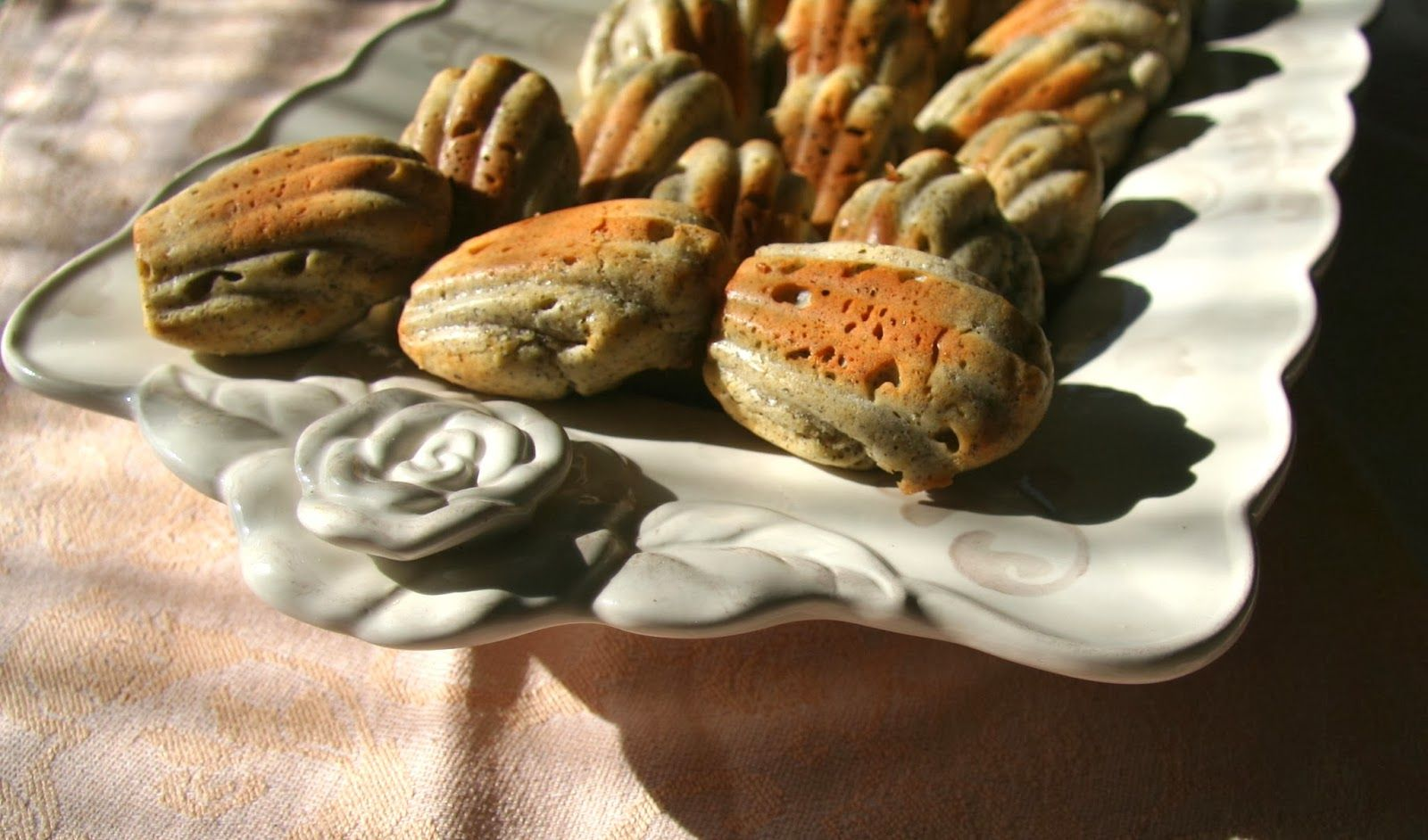 Madeleines salate ai semi di papavero