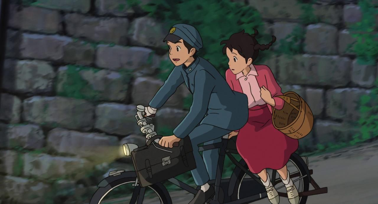 Image result for miyazaki bicycle