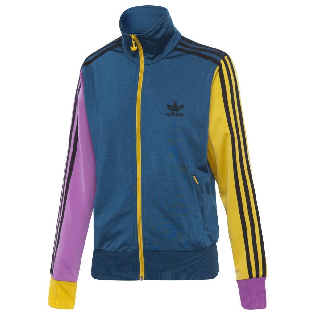 Yellow adidas women's jacket