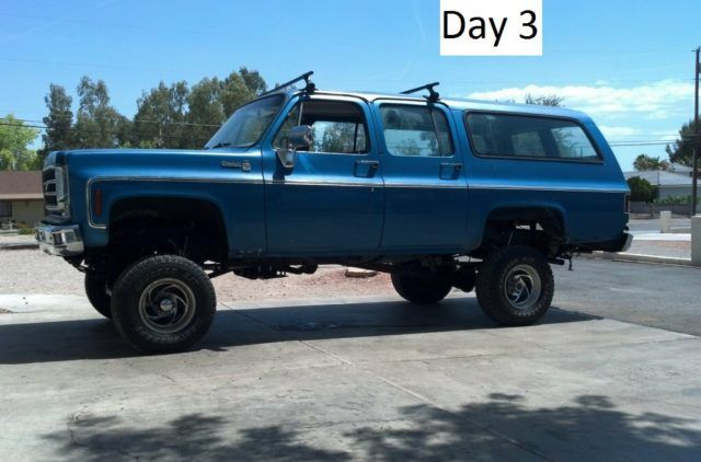 1976 Chevrolet Suburban 1500 Picture 2 After Day 3 Chevrolet