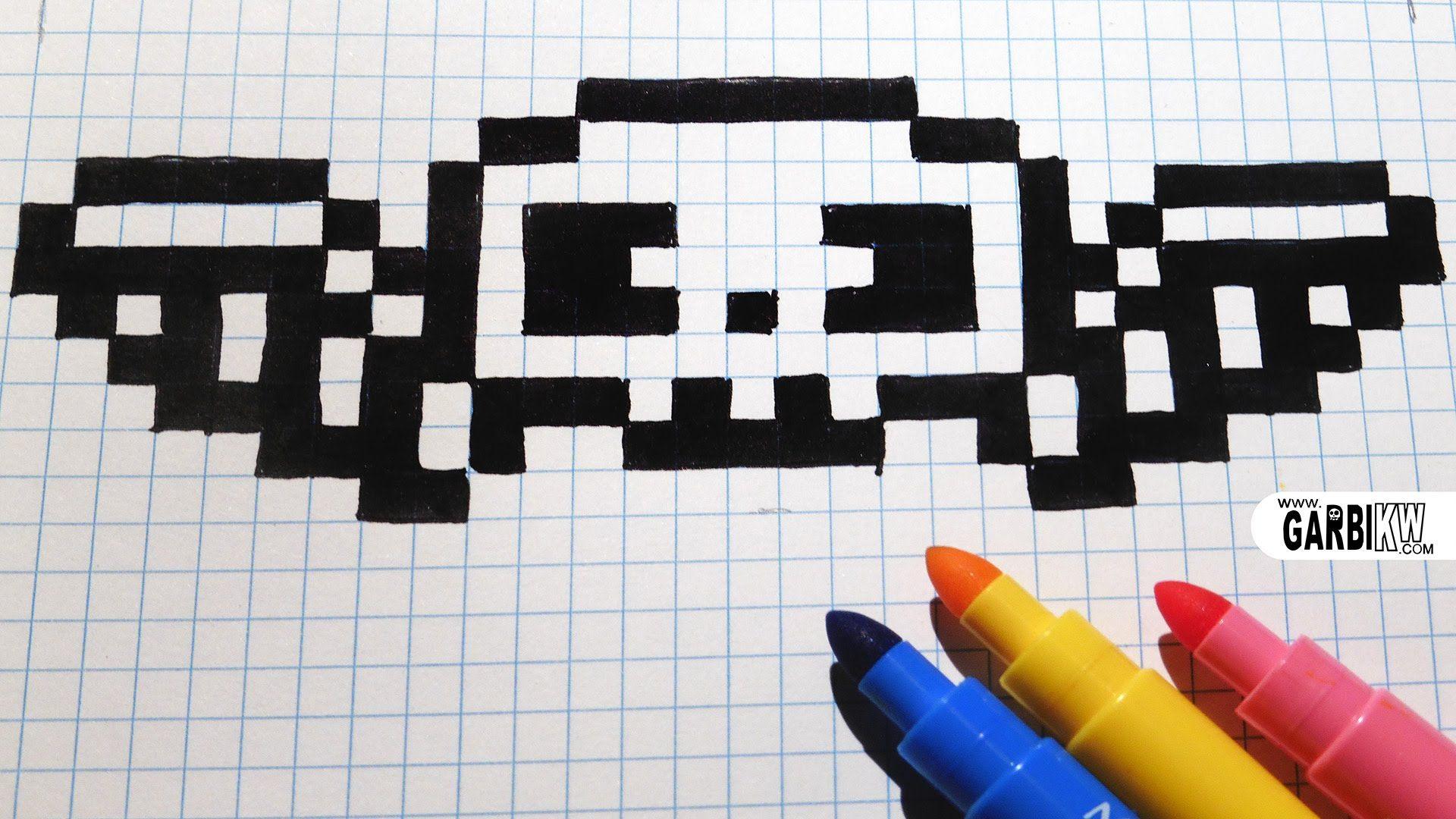 Minecraft Easy Pixel Art Templates Skull Topsimages