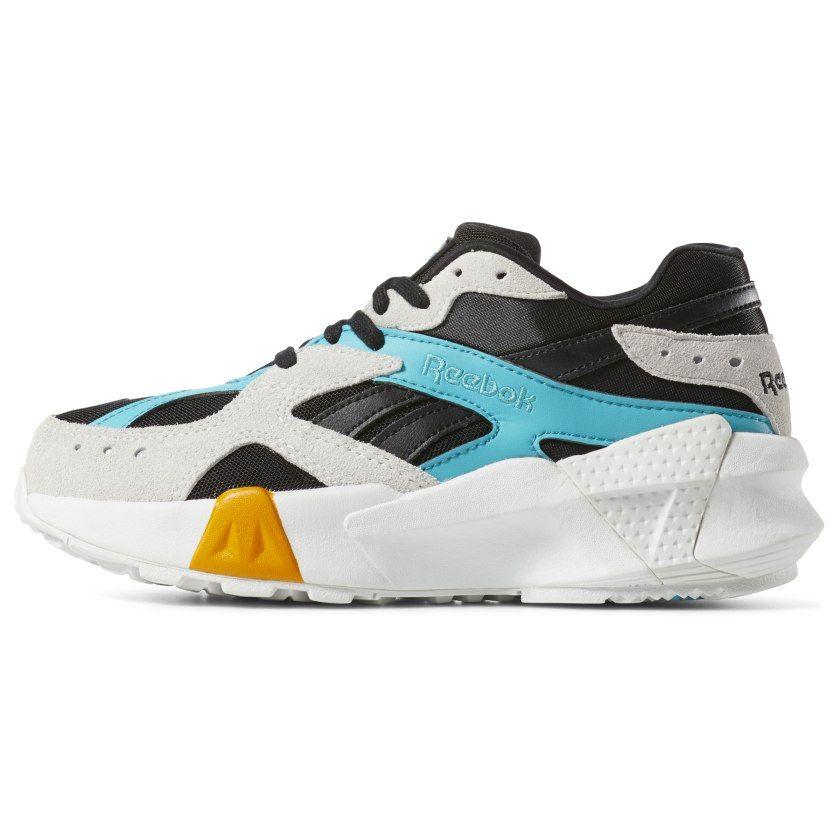 Reebok Aztrek Double x Gigi Hadid Shoes – Black | Reebok US