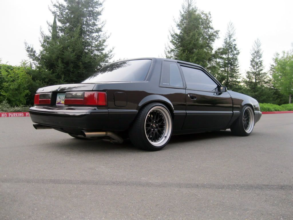 Image result for stanced foxbody mustang