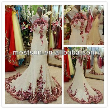 EV590 Modern High Neck Embroidered Cheongsam Wedding Dress Qipao Wedding Dress, View Cheongsam, OEM Product Details from Suzhou MostSun Wedding Dress Co., Ltd. on Alibaba.com