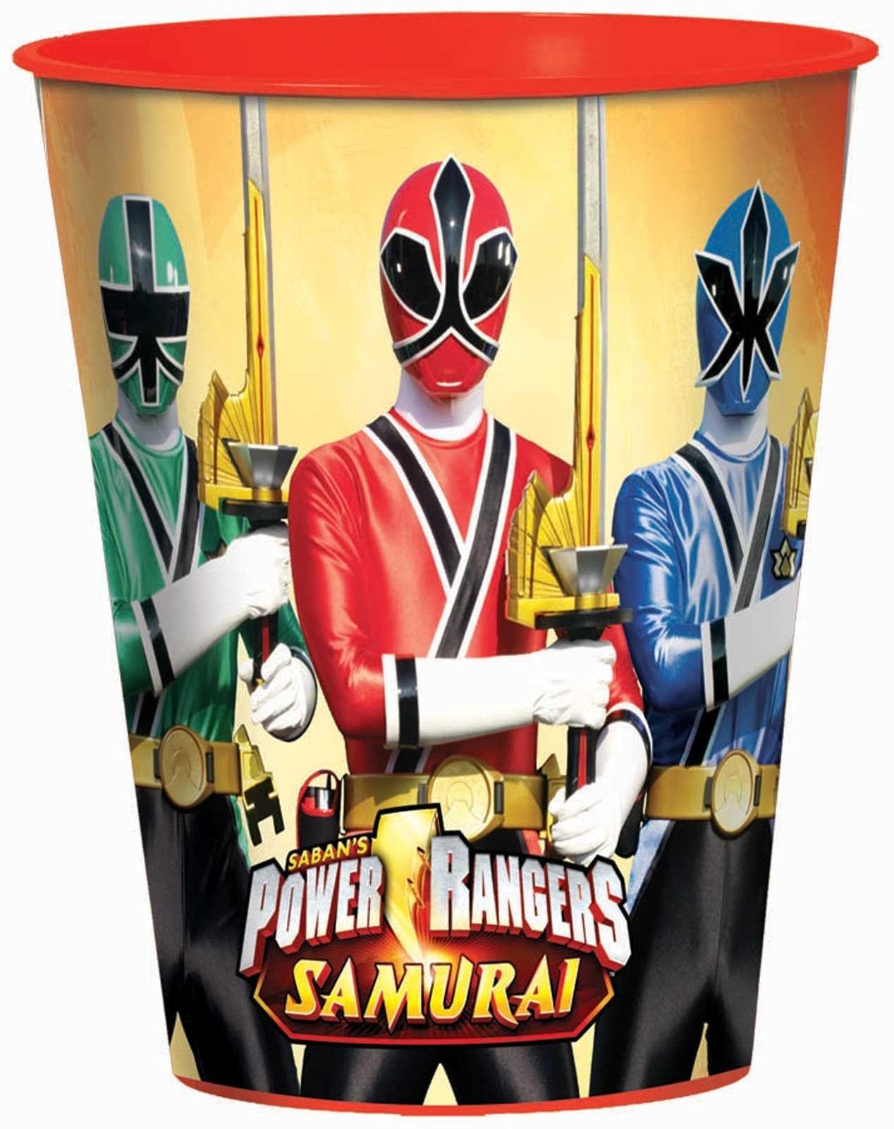 Power Rangers Samurai 16 oz. Plastic Cup - Includes (1) - 16 oz ...