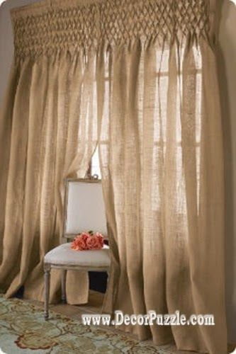 Superbe Diy Curtains 2017, Window Curtain Designs And Styles