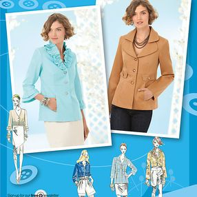 Misses' Jackets. Project Runway Collection
