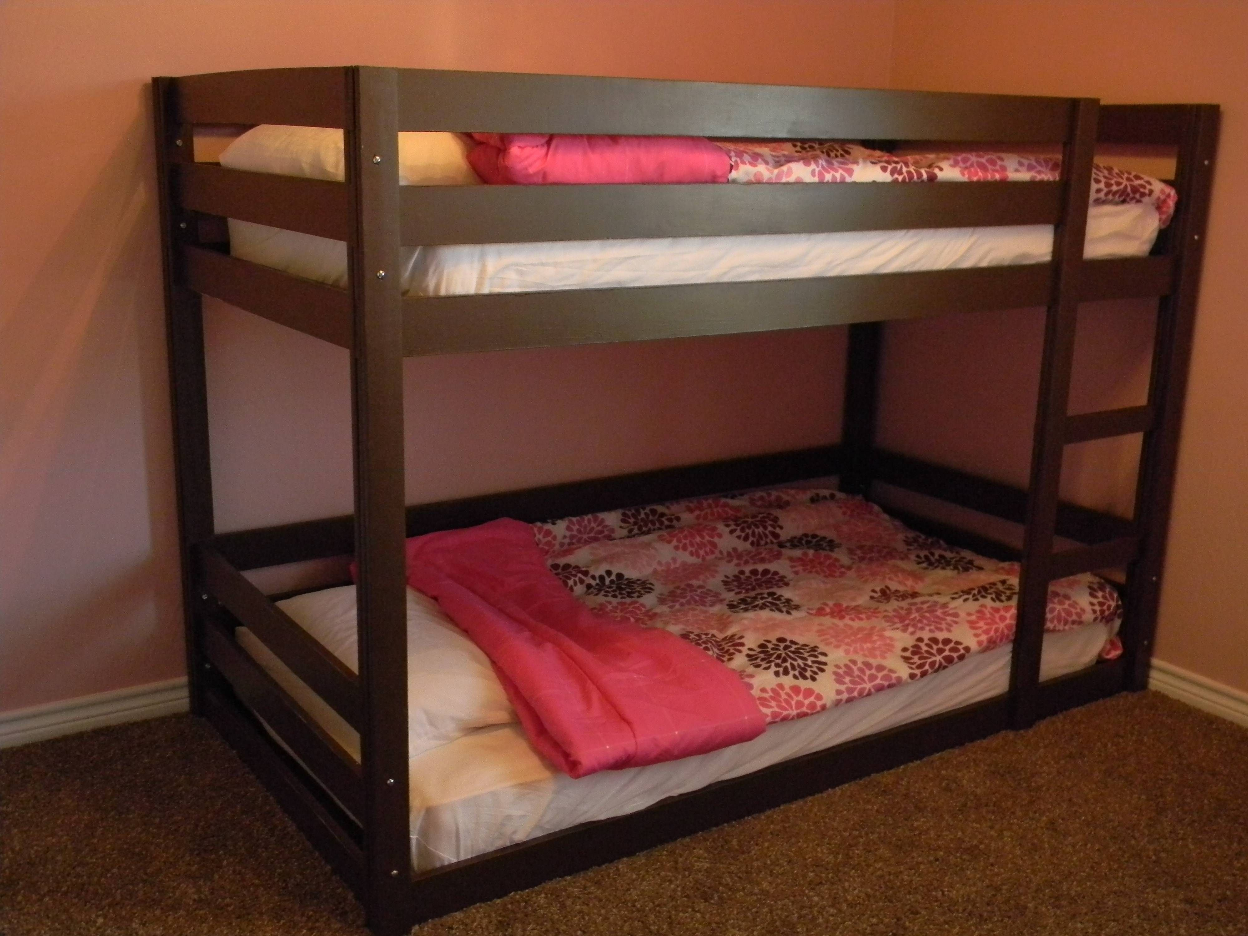 Homemade twin loft bed  Modified Classic Bunk Beds  Do It Yourself Home Projects from Ana