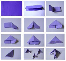 Destinys Child 3D Origami Heart Tutorial
