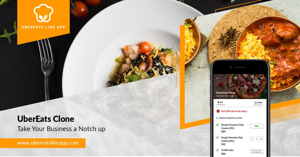 A UberEats clone app will take your business a notch up