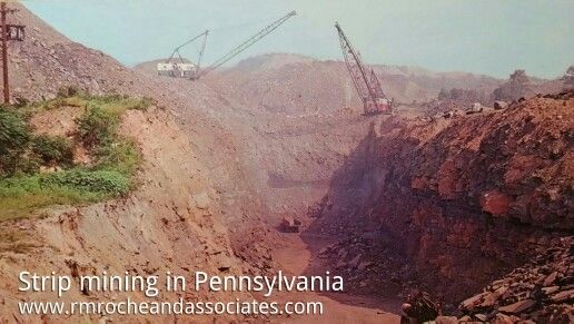 Strip mining in pa