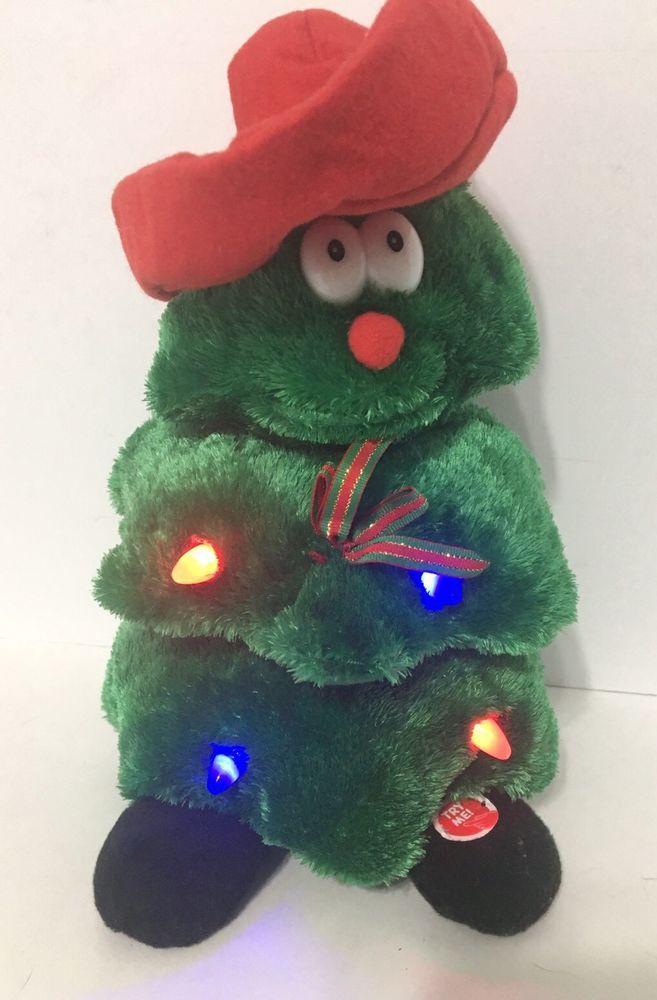 Dancing Animated Musical Christmas Tree Figure Sings Feliz Navidad Euc Feliz Navidad Navidad Christmas Tree