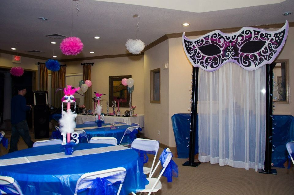 Masquerade Ball Prom Decorations Masquerade Dinner Birthday Party  Centerpiece Ideas  Pinterest