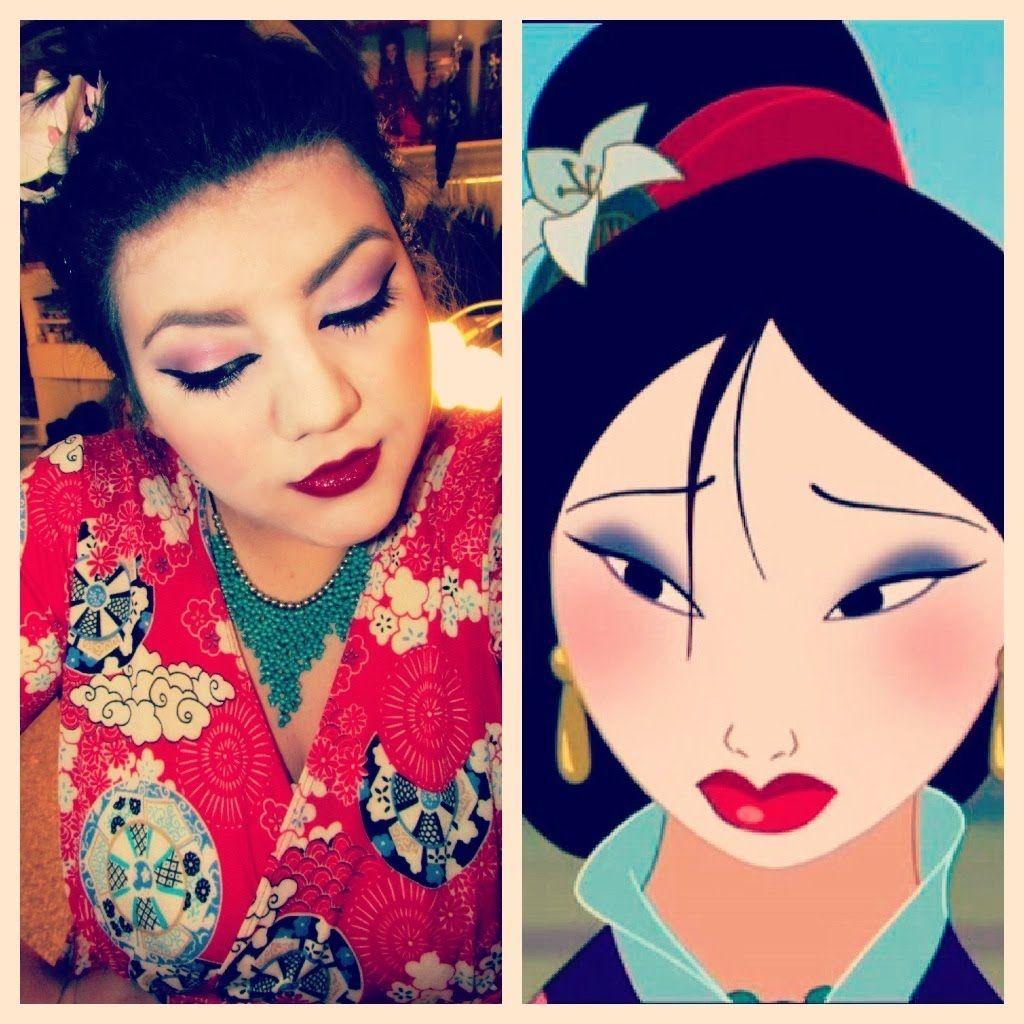 Disney\'s Mulan Makeup Tutorial   costumes/cosplay   Pinterest ...