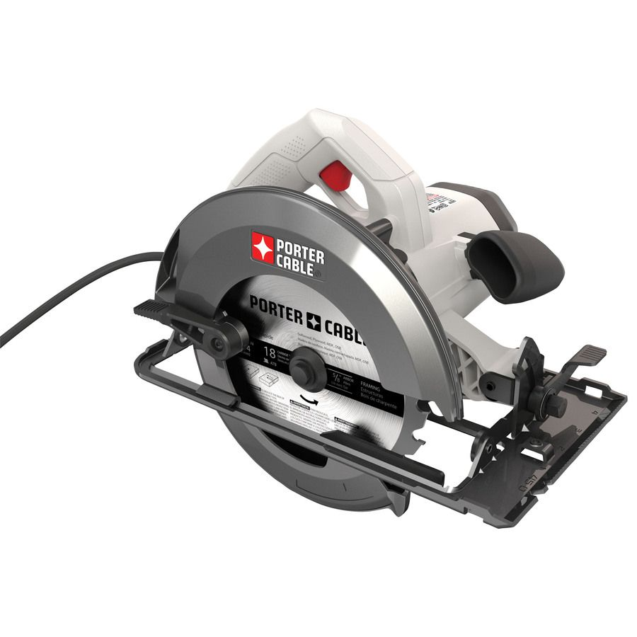 50 Porter Cable 15 Amp Corded Circular Saw At Lowes Best Circular Saw Porter Cable Circular Saw