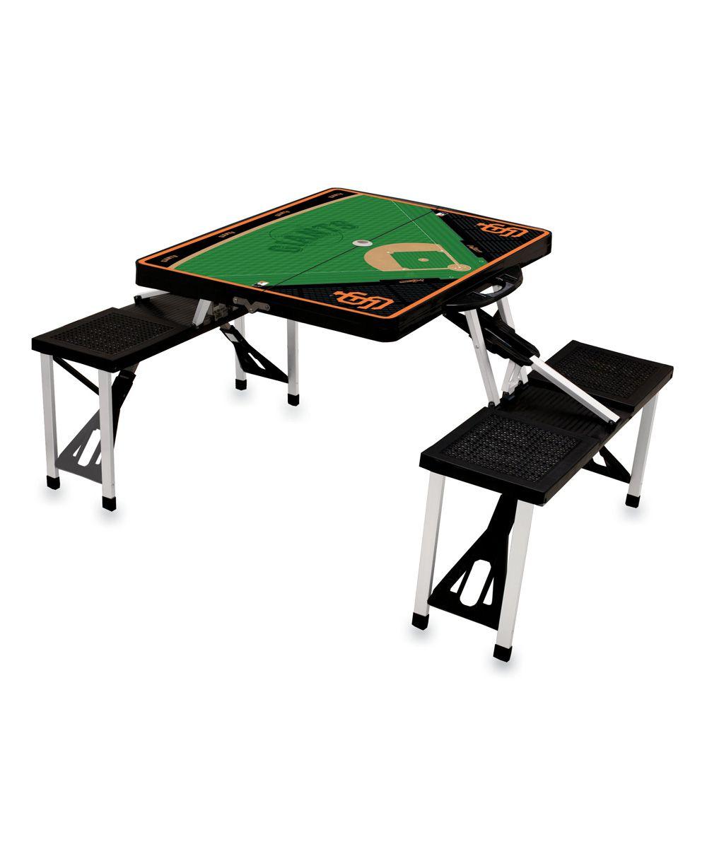 San Francisco Giants Portable Picnic Table & Seats