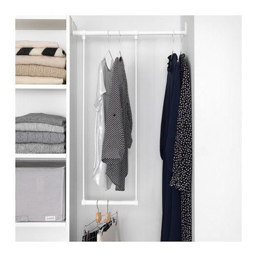 Latthet Tringle A Habit A Accrocher Blanc 35 60x40 Cm Ikea Armoire Penderie Tringle Vetement Ikea