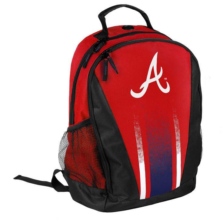 Atlanta Braves Striped Prime Time Backpack - $24.99