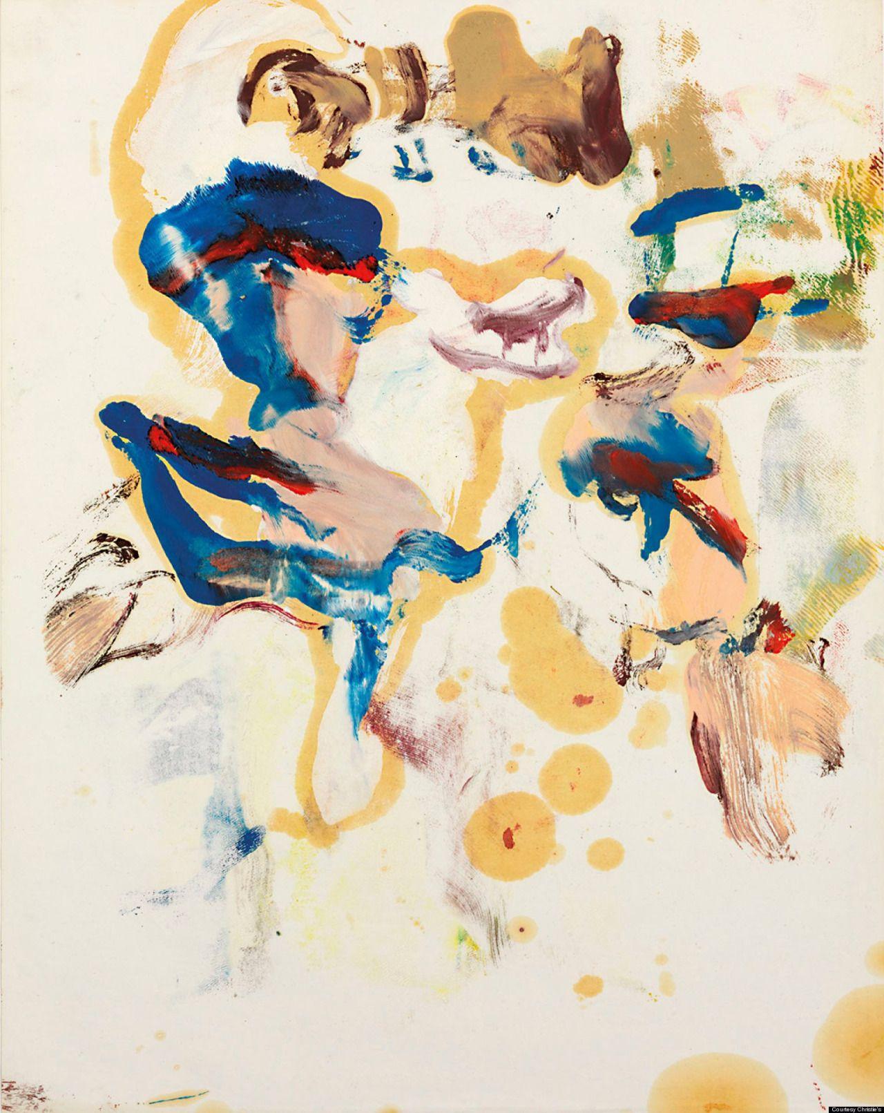 """jimlovesart: """" Willem de Kooning - untitled, 1960s. """""""