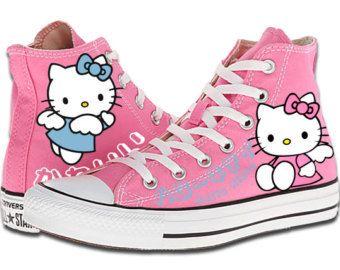 converse donna hello kitty