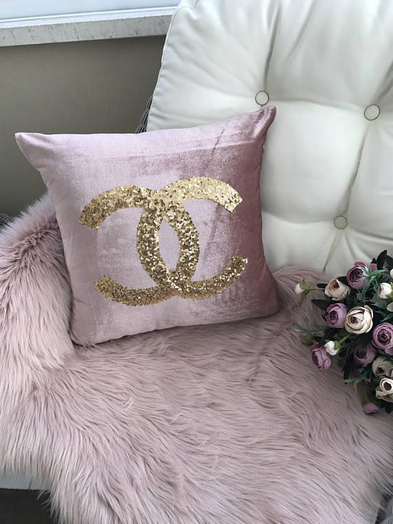 Gold Sequin Pillow Case Bridal Shower Sleeping Beauty Decorative Pillow Decor Pillow Cotton And Handmade Bedroom Livingroom