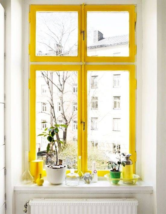 colorful window frames are a thing (and we love them) | Pinterest ...
