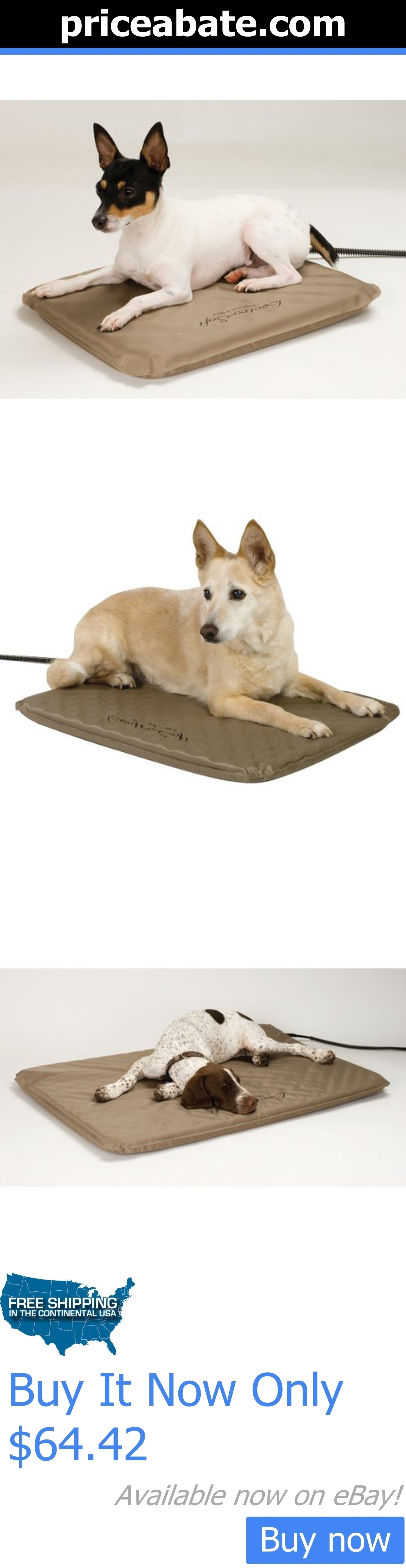 Animals Dog: Pet Dog Heated Pad Cover Dog Nesting Soft Outdoor Heated Bed With Free Cover New BUY IT NOW ONLY: $64.42 #priceabateAnimalsDog OR #priceabate