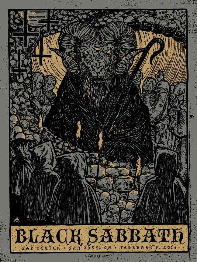 Black Sabbath 2016 | Band Posters | Pinterest | Banda, Musica y ...