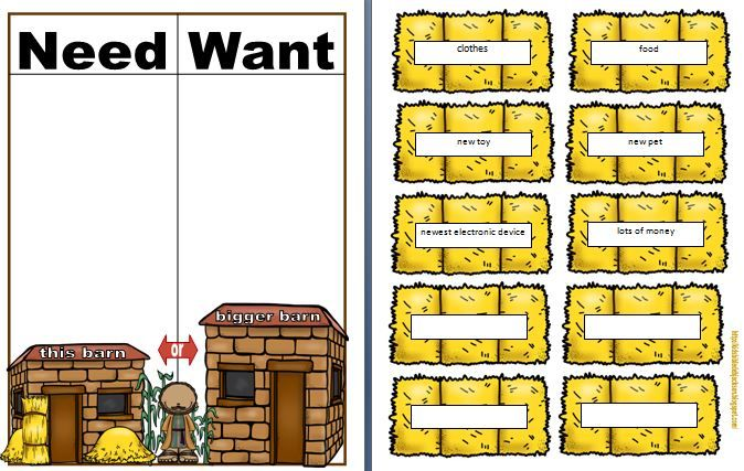 Parable of the Rich Fool, the Hidden Treasure, laminate to last longer! #3edGradeSundaySchoolClass