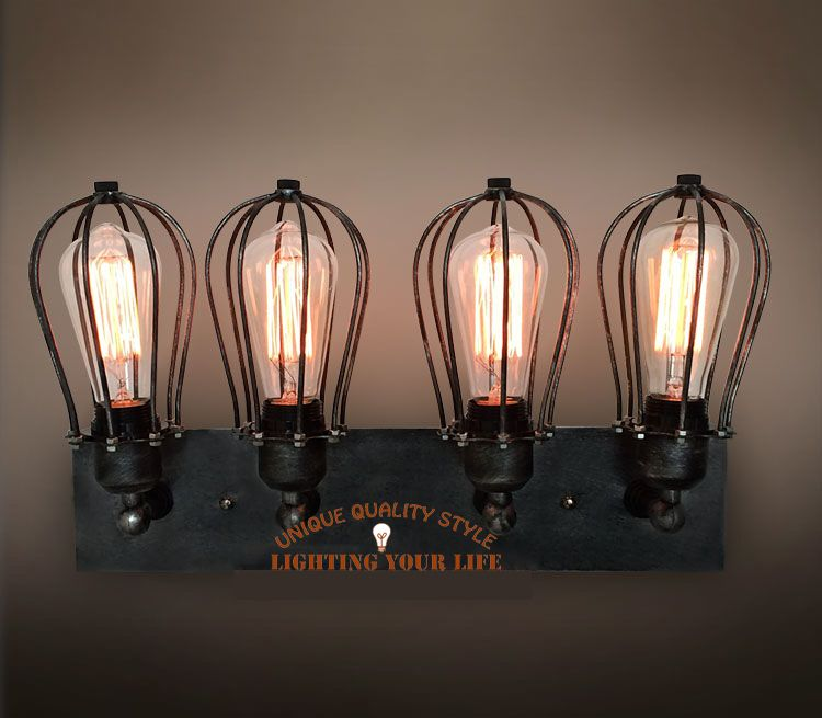 Bathroom Light Fixtures With Edison Bulbs sconce | steampunk home stuff | pinterest | bathroom black, metal