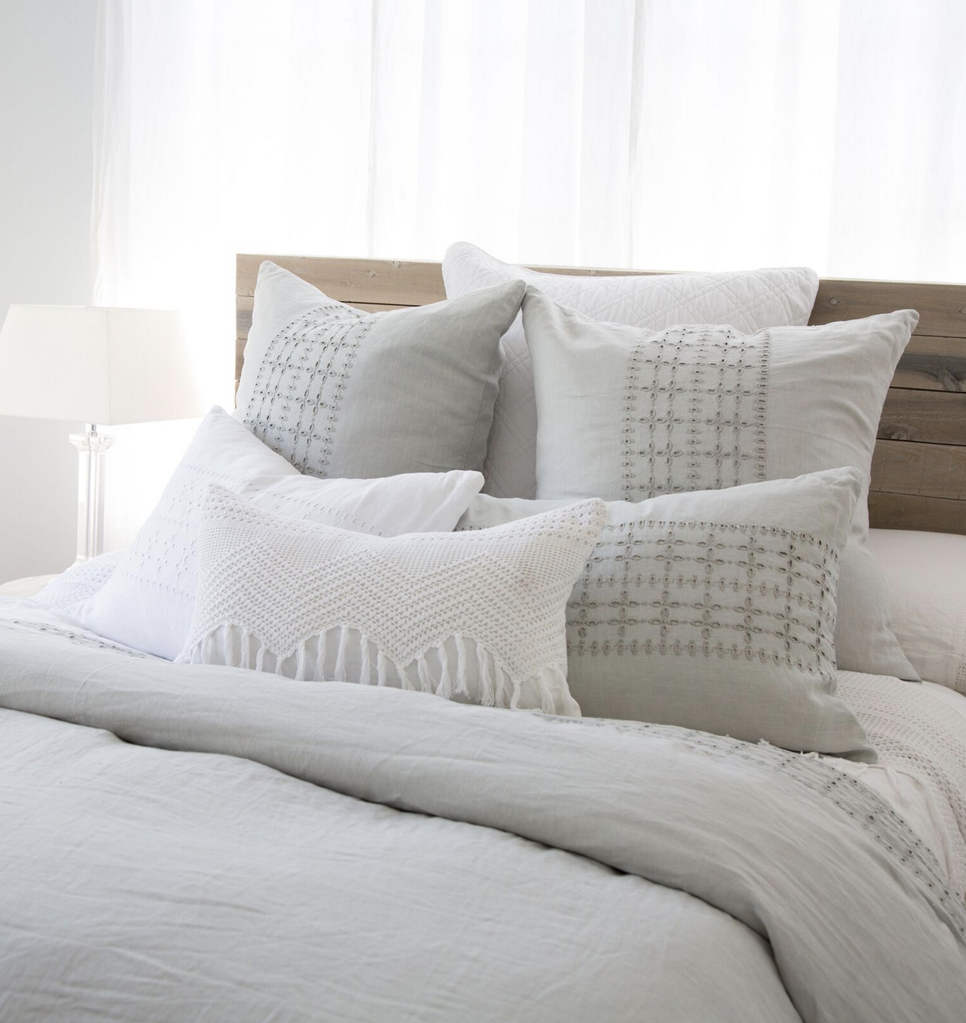 Pom Pom At Home Bedding Collection Linen Bedroom Organic Interiors Pillows Bedroom Comforter Sets Pom Pom At Home Solid Duvet