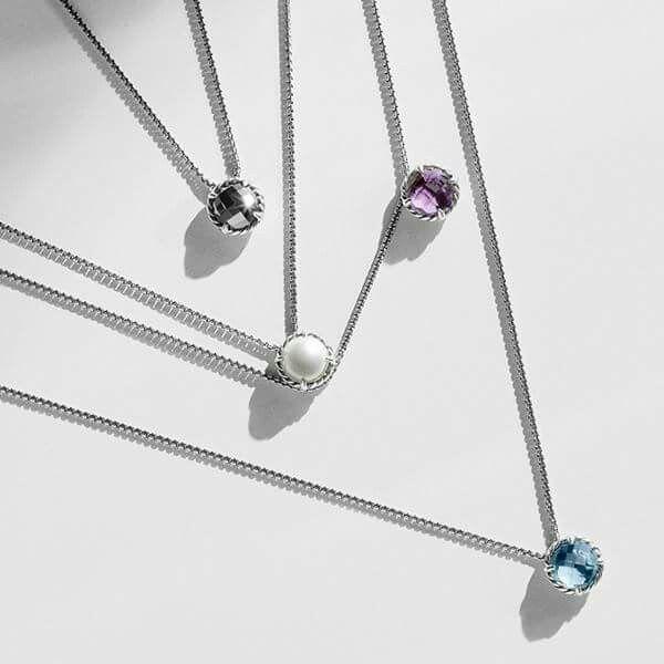 David Yurman necklace. Love!