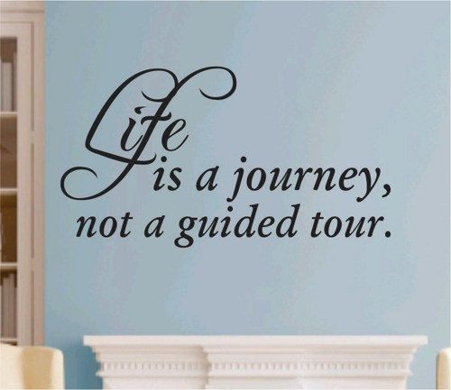 The Best Journey Quote Wall Decal Sticker Teen Love Girl