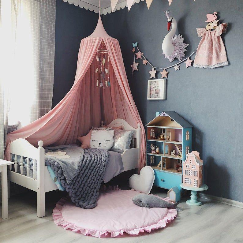 Princess Bed Canopy Pour Baby Girl Baldachin Pour Blush Nursery