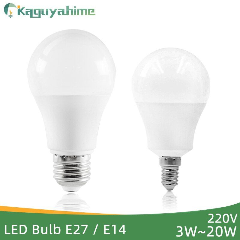 Kaguyahime Led E27 Led Light E14 Led Bulb Ac 220v 240v 20w 15w 12w 9w 6w 3w Led Spotlight Table Lamp Bombilla Lighting Lampad In 2020 Led Spotlight Led Bulb Led Lights