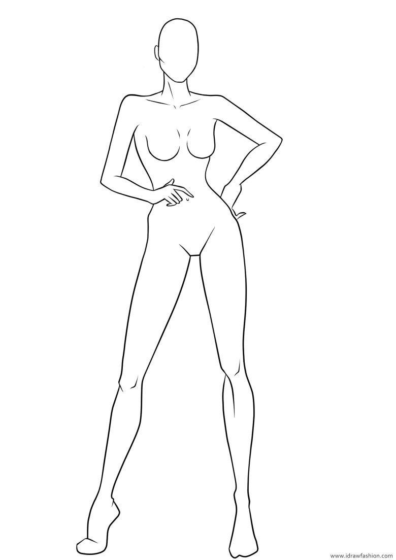 Photo of Figure Template 27 – I Draw Fashion
