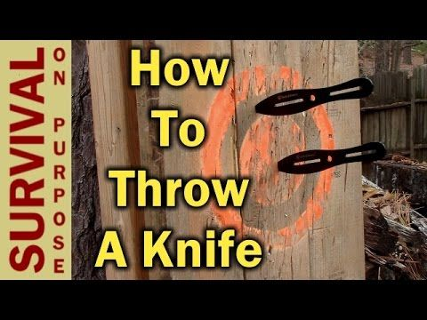 A Step By Step Guide On How To Throw A Throwing Knife From The Best Beginner Knives The Right Stance And Gri Throwing Knives Knife Throwing Knife Techniques