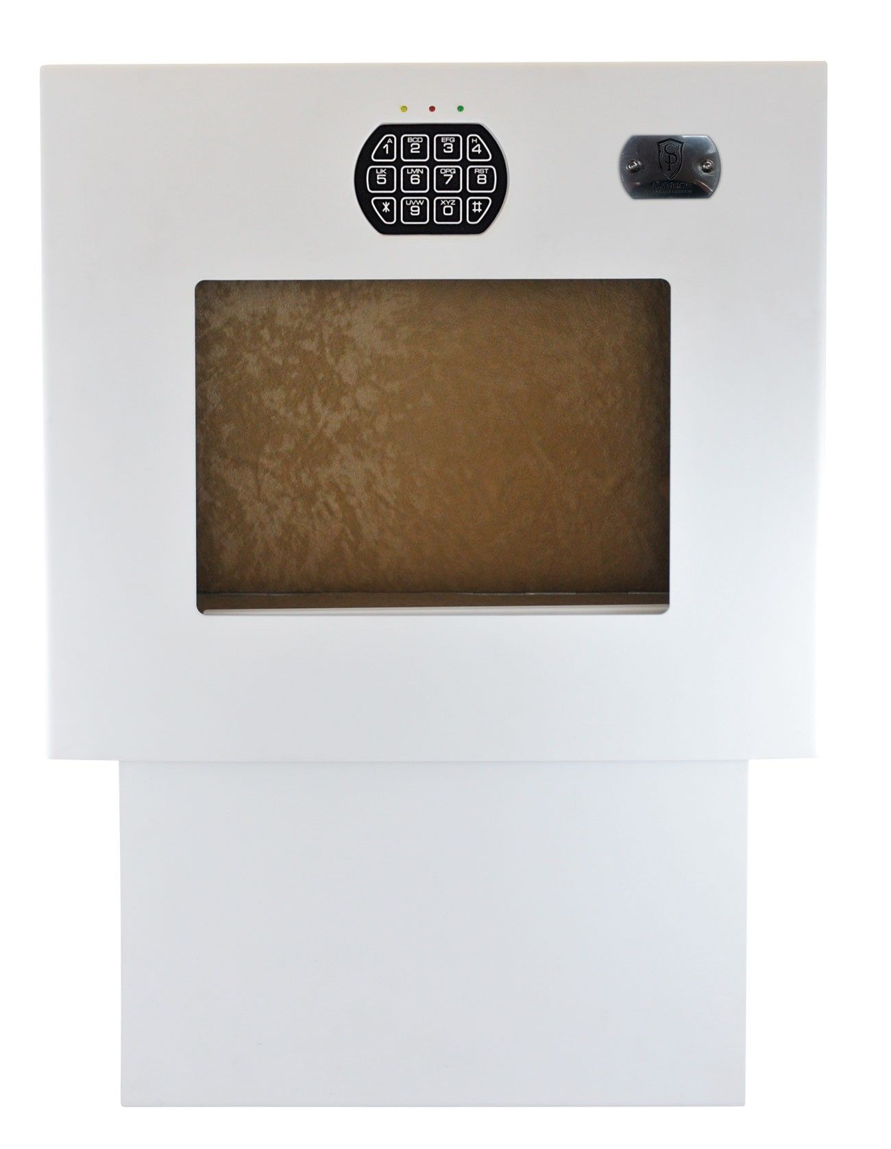 Superieur Wall Safe With Instant Drop Down Door For Quick Access