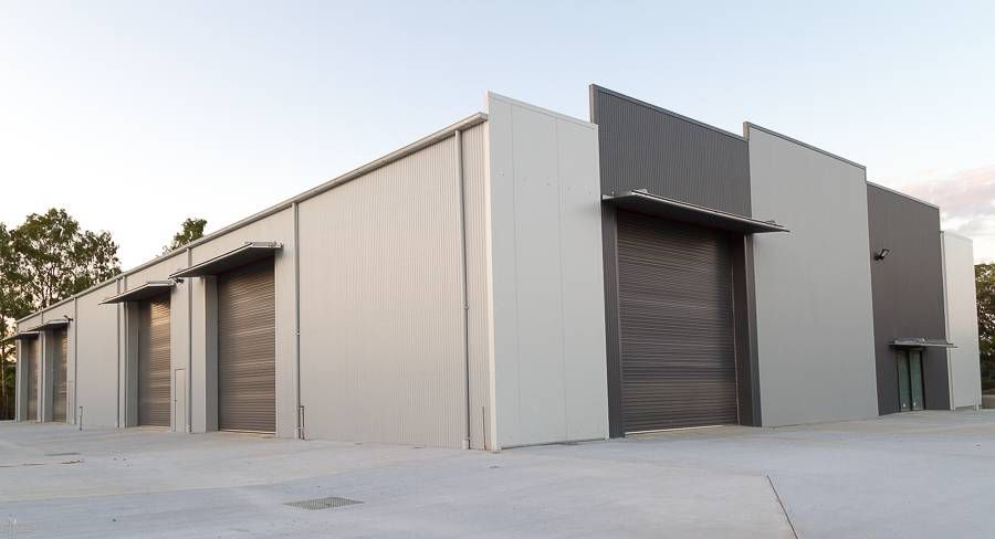 This Is Commercial Industrial Shed With A Nice Modern Design To It