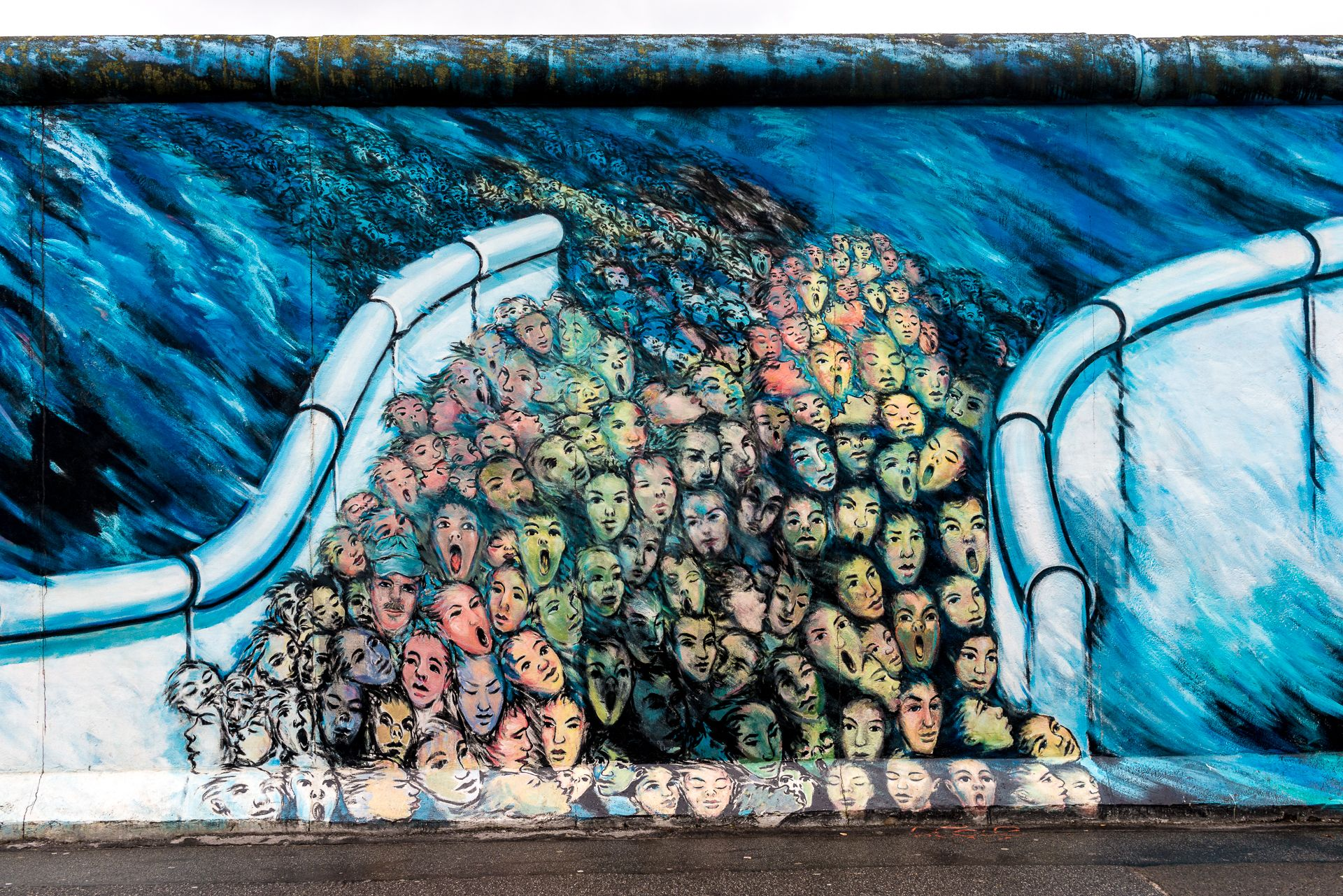 Berlin S East Side Gallery A Symbol Of Unity In A City Once Separated Berlin Wall East Side Gallery Berlin Street