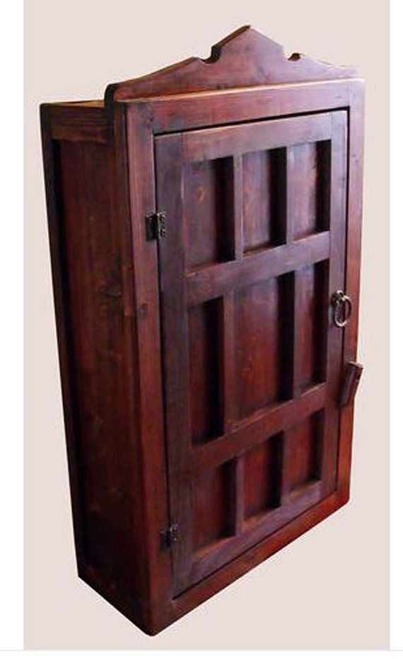 Original Design Handcrafted Custom Made Moroccan Style Cedar Wood Wall Mount Ca Wall Mounted Cabinet Transitional Living Room Furniture Hand Crafted Furniture