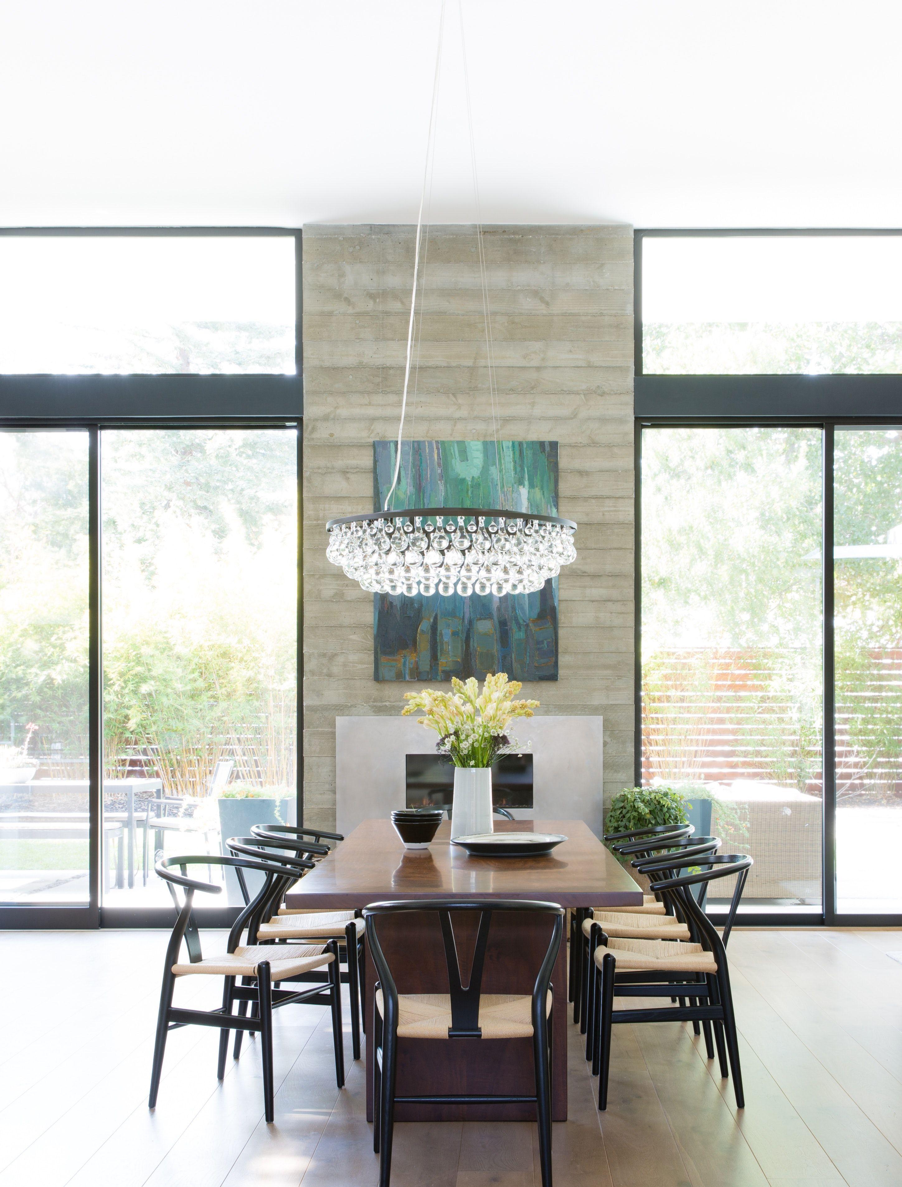 Warm Modern Home In Los Altos California Interior Design
