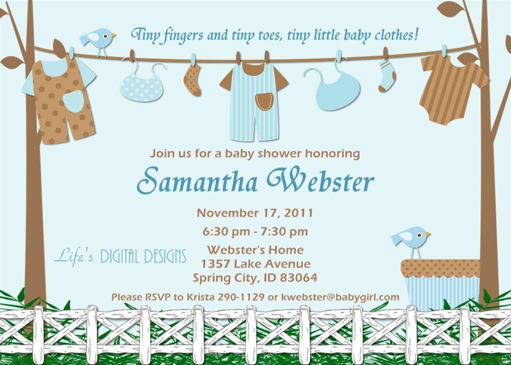 baby boy shower invitations zazzle | baby shower invitations ...