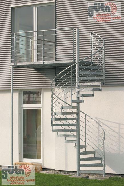 Außentreppe Escalera, Escalera de caracol y Escalera caracol