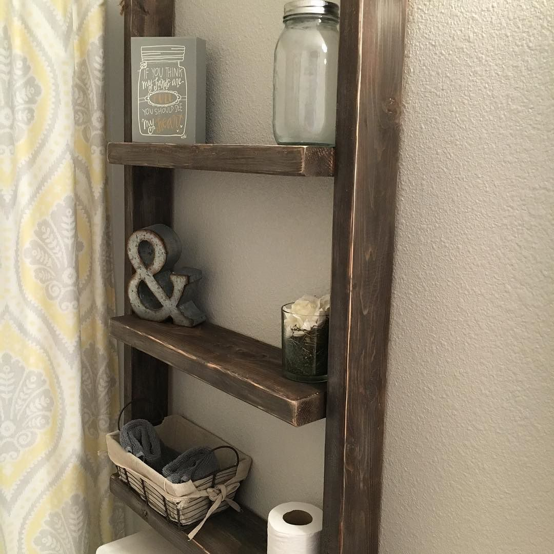I've posted this before but I re stained it using some weathered grey dark walnut and little dry brush white paint. #trynewthings #woodworking #industrial #vintage #rustic #eclectic #bathroom by splintersndust