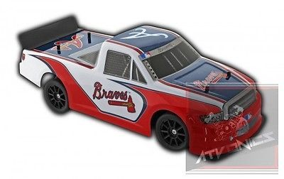 Redcat Racing Atlanta Braves Mlb Electric Rc Radio Controlled Rtr Race Toy Truck Redcat Racing Toy Car Car