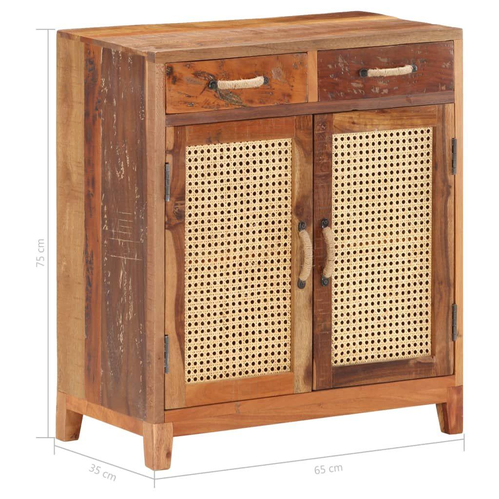 vidaXL Sideboard 65x35x75 cm recycled solid wood